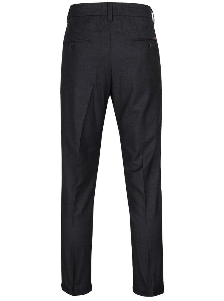 Pantaloni chino negri Jack & Jones Robert