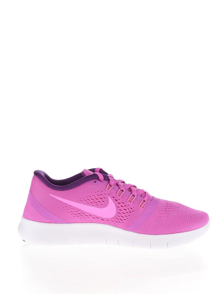 Pantofi sport roz Nike Free pentru femei
