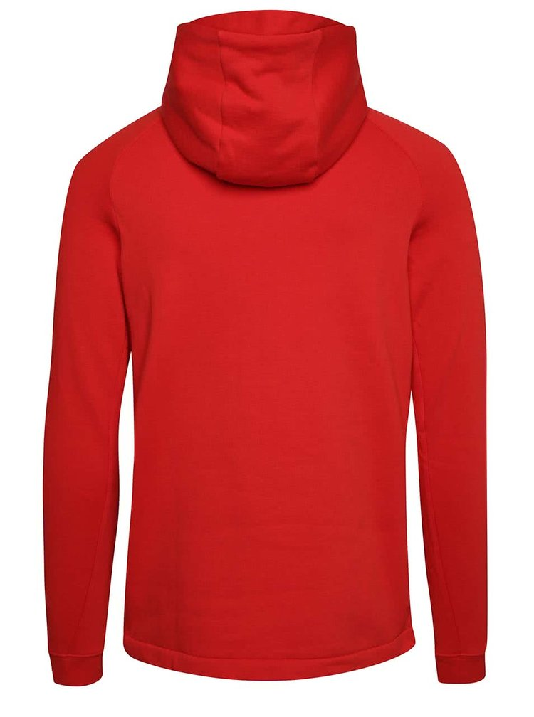 Červená pánská mikina s kapucí Nike Modern