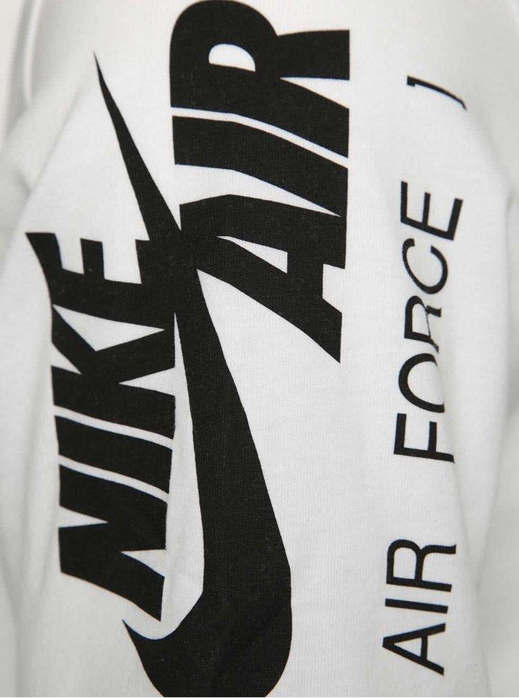 Bílé pánské triko s potiskem Nike Art