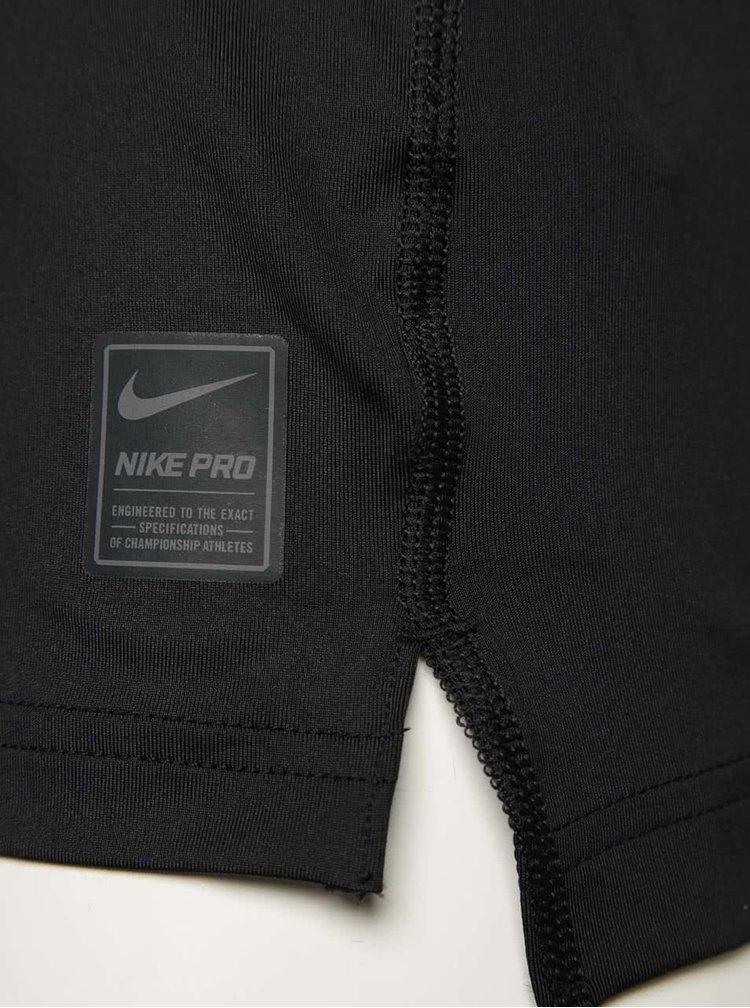 Čierne pánske funkčné tričko Nike Pro