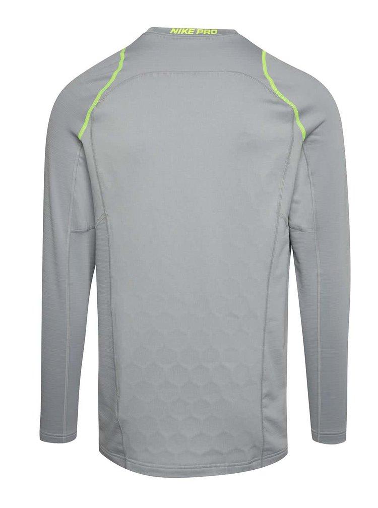 Bluză Nike Pro Hyperwarm gri