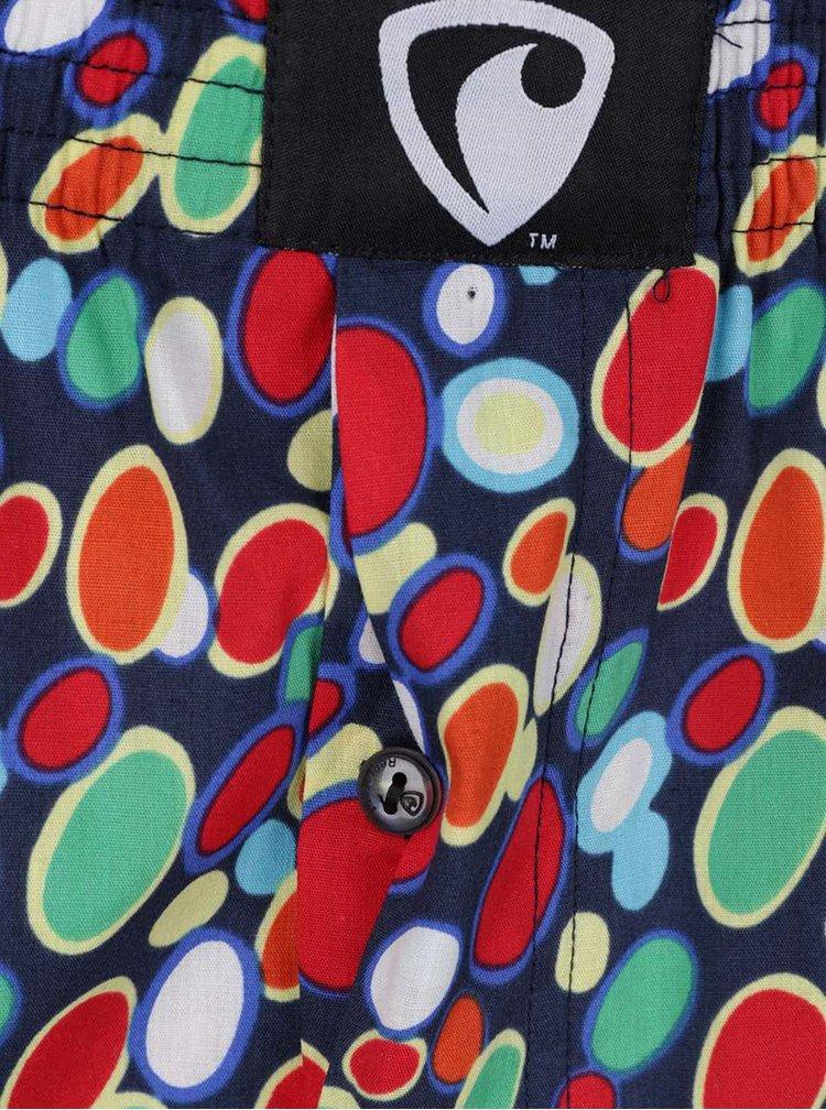 Červeno-modré vzorované trenýrky Represent Ali Spots