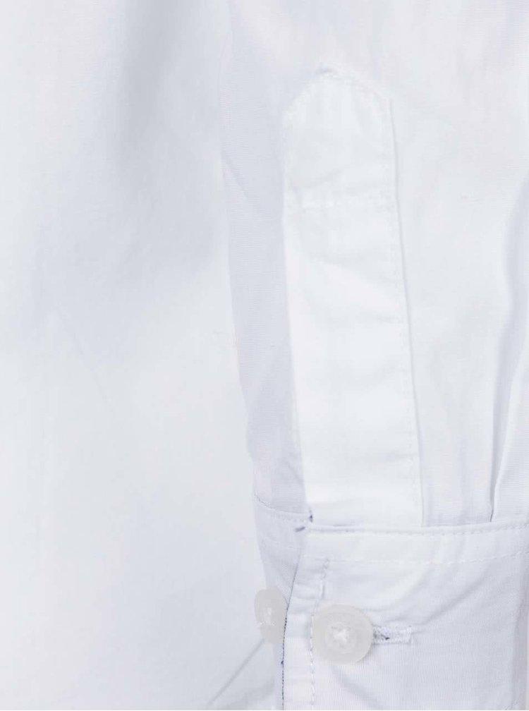 Bílá klučičí košile name it Solid