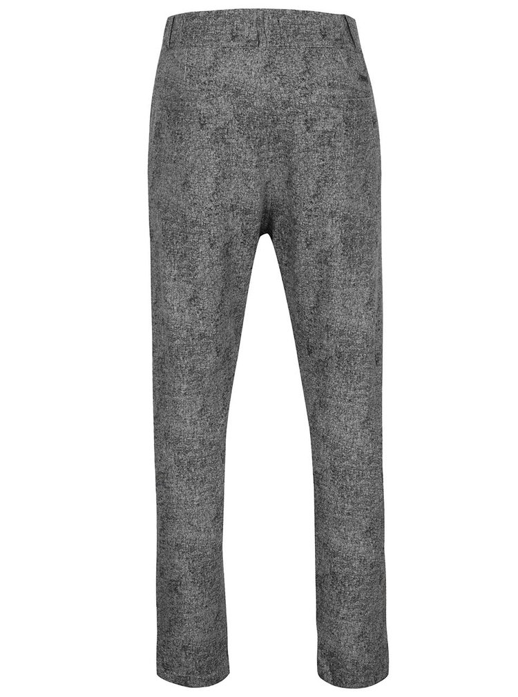 Pantaloni chino gri melanj ONLY & SONS Fisher