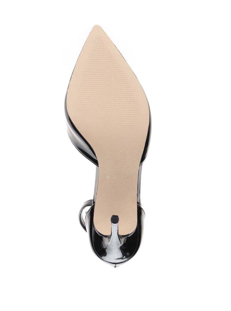 Pantofi negri ALDO Marylee cu aspect lucios