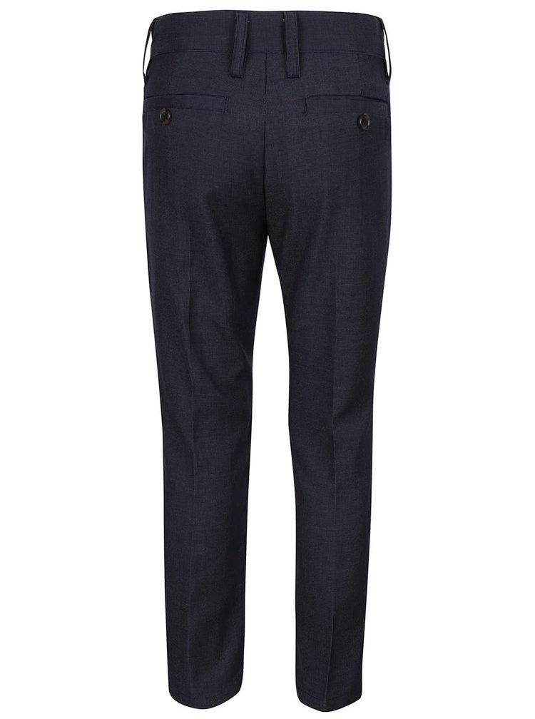 Pantaloni albastru închis name it Holger cu model discret pentru băieți