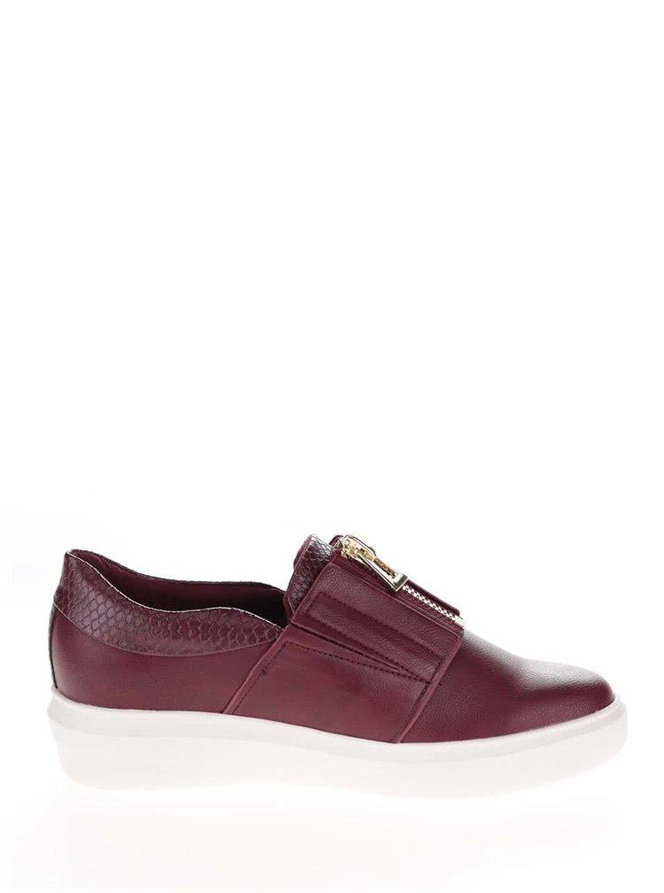 Pantofi visinii cu platforma ALDO Afaossi cu fermoar decorativ