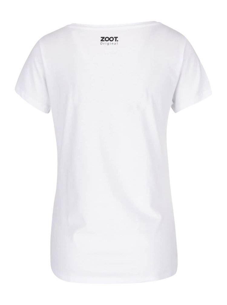 Bílé dámské tričko s potiskem ZOOT Originál Liška