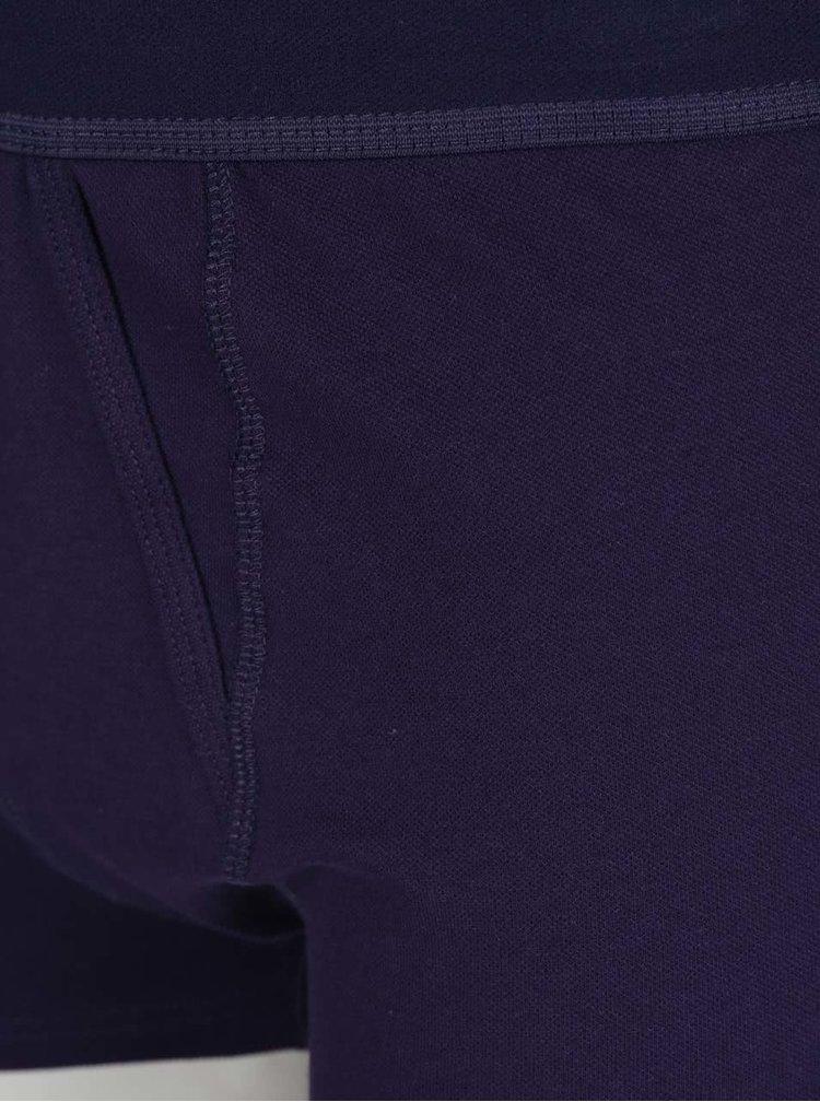 Sada tří boxerek v černé, vínové a modré barvě Burton Menswear London