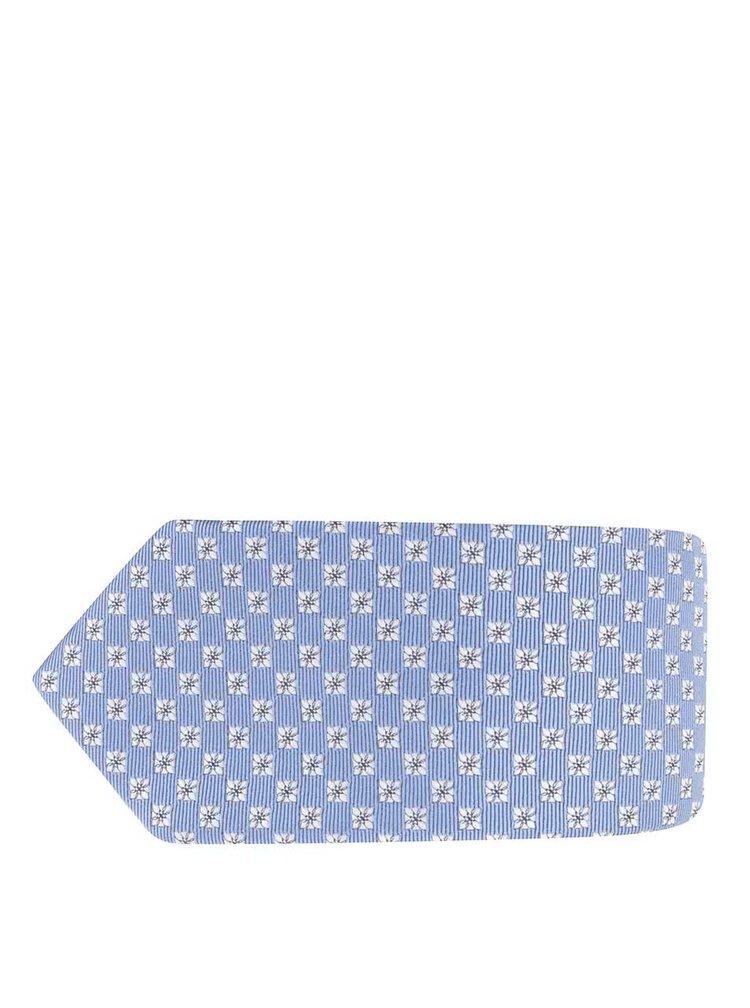 Sada svetlomodrej vzorovanej kravaty s vreckovkou Burton Menswear London