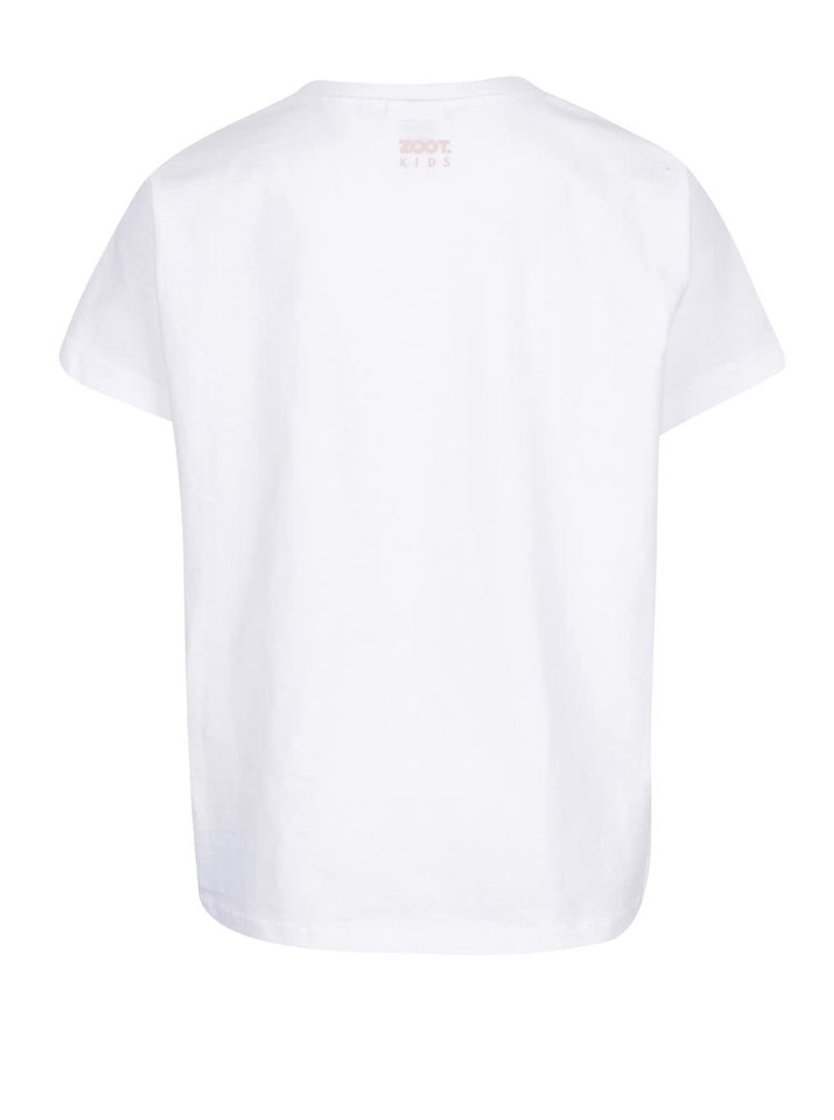 Bílé pánské triko s potiskem ZOOT Originál Merry Christmas