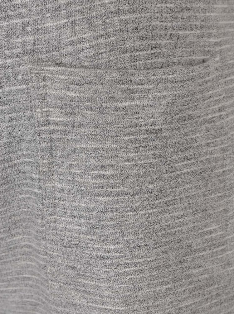 Šedé žíhané tepláky Burton Menswear London
