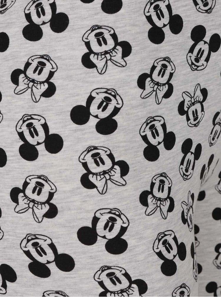 Světle šedé legíny s motivem Mickey Mouse Haily´s M&M