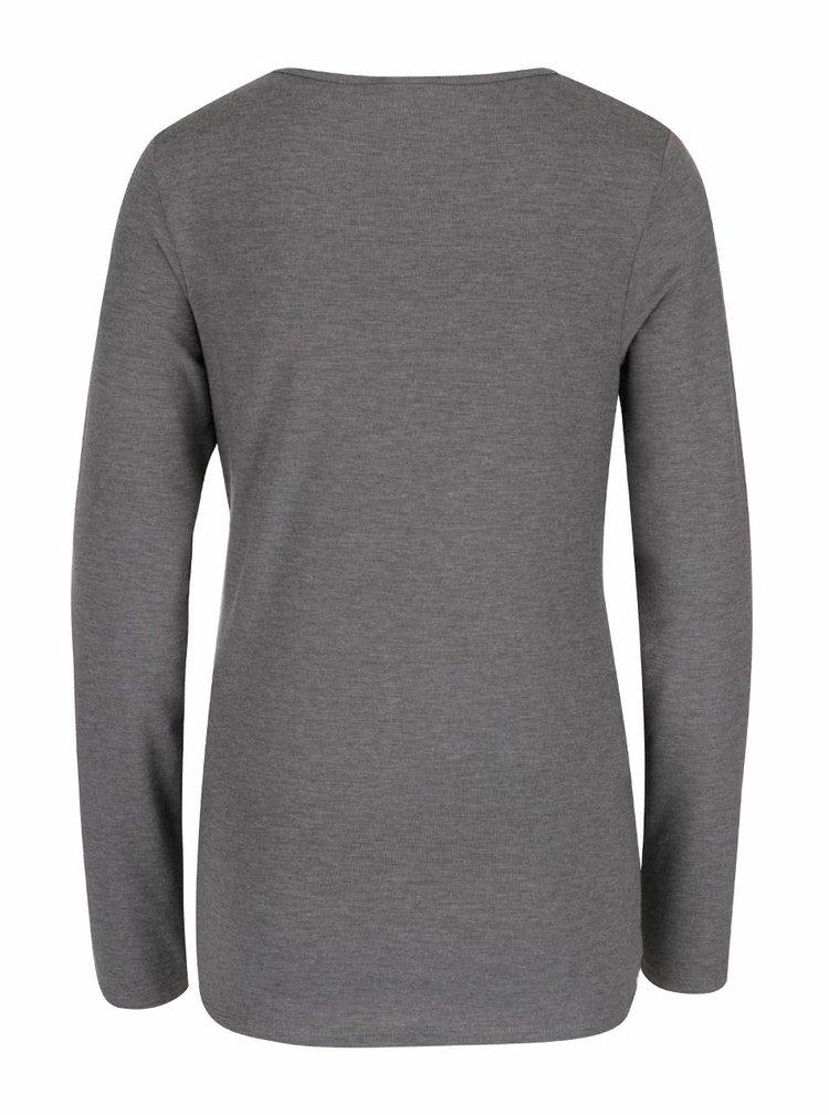 Set de 2 bluze gri & negru Mama.licious Lea