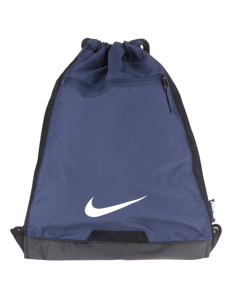 Tmavě modrý vak s logem Nike Alpha Gym