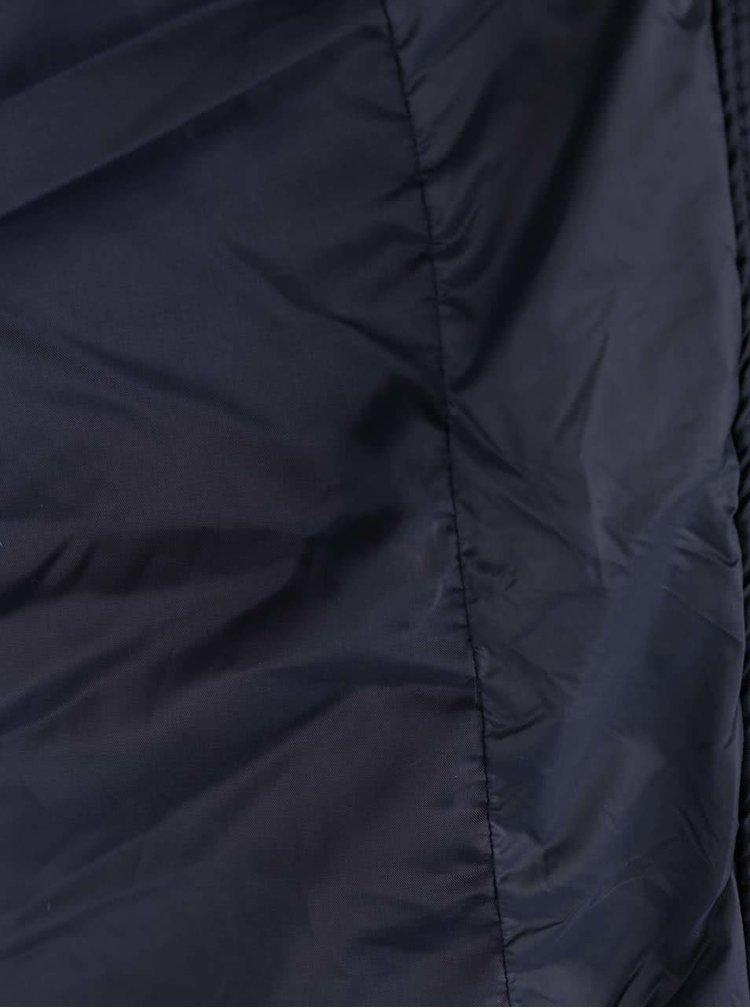 Tmavě modrá prošívaná vesta Burton Menswear London
