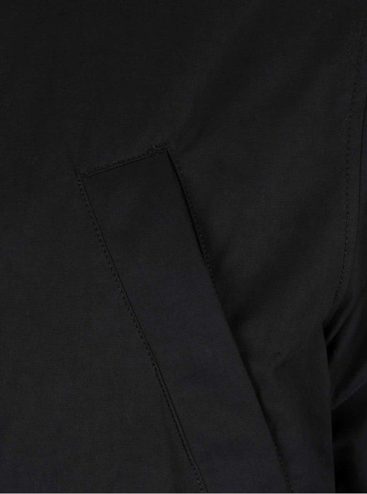 Geacă neagră cu glugă Burton Menswear London