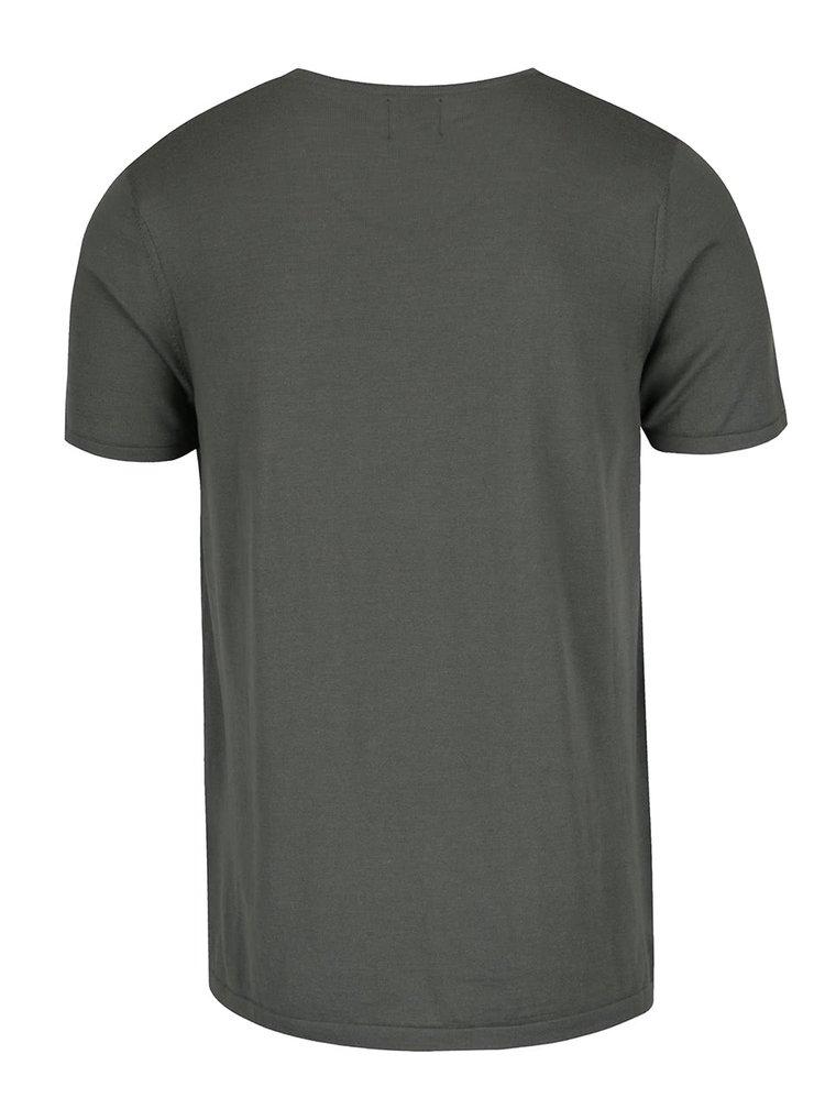 Tricou gri Burton Menswear London