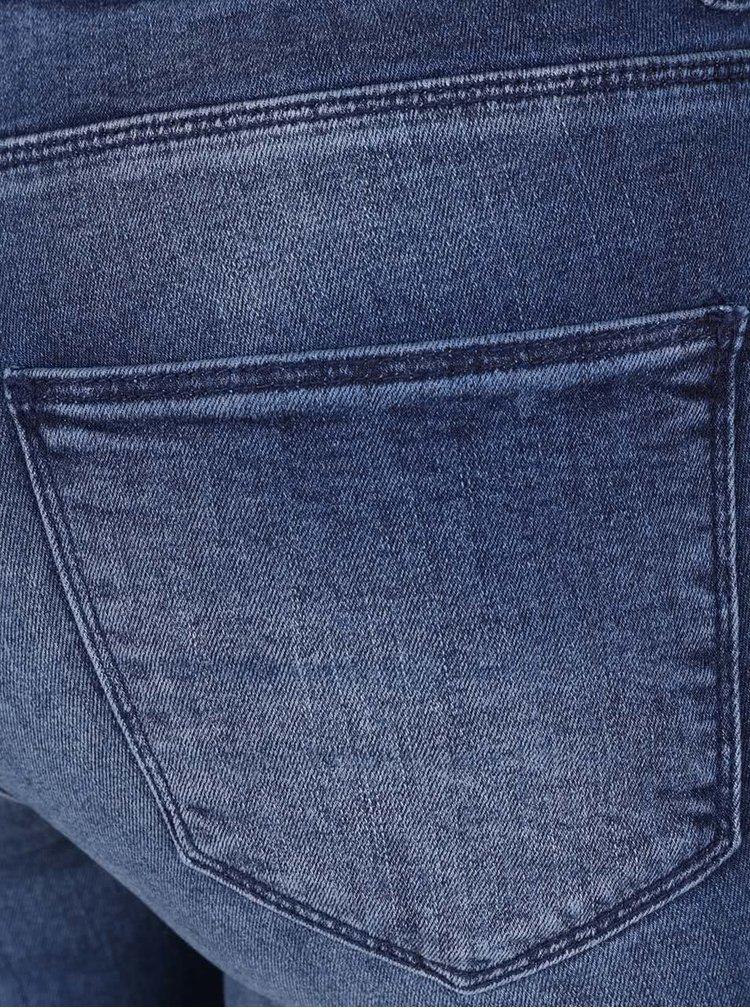 Jeanși skinny albaștri cu aspect prespălat Miss Selfridge