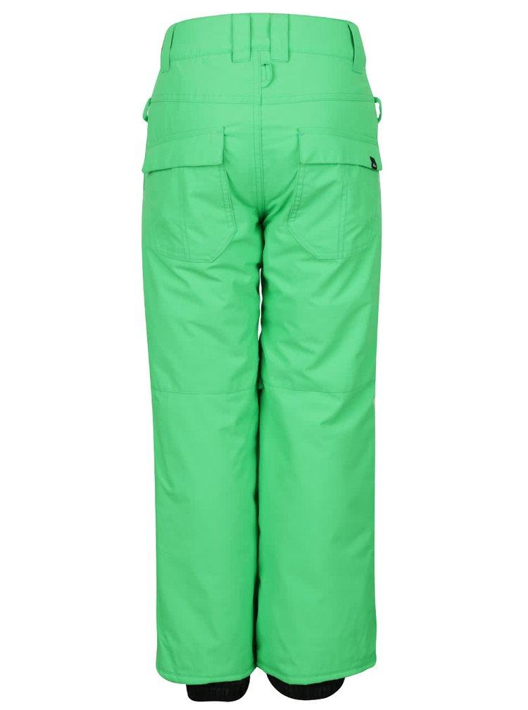 Zelené klučičí oteplováky Quiksilver