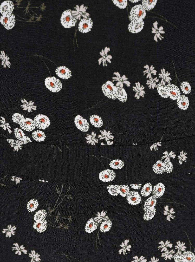 Rochie albastru inchis cu imprimeu floral Miss Selfridge