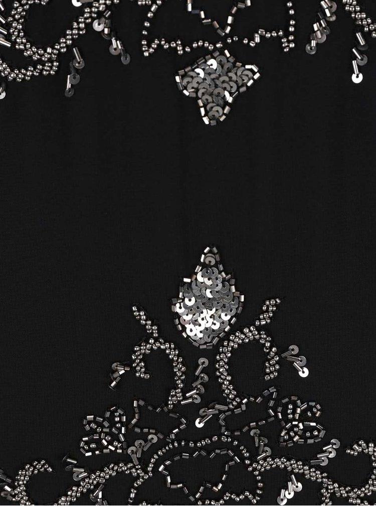 Rochie neagră Miss Selfridge cu paiete și mărgele