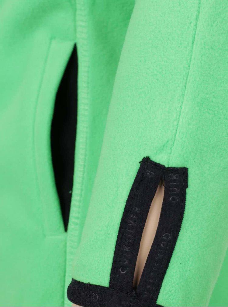 Bluză sport verde Quiksilver pentru băieți