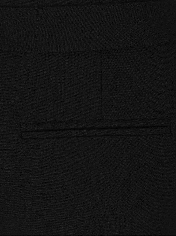 Pantaloni negri cu cordon ONLY Paper