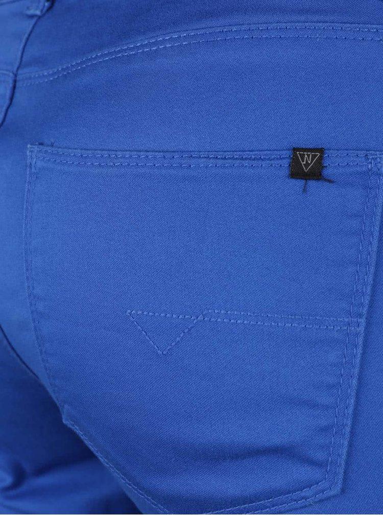 Pantaloni slim fit albaștri Noisy May Extreme