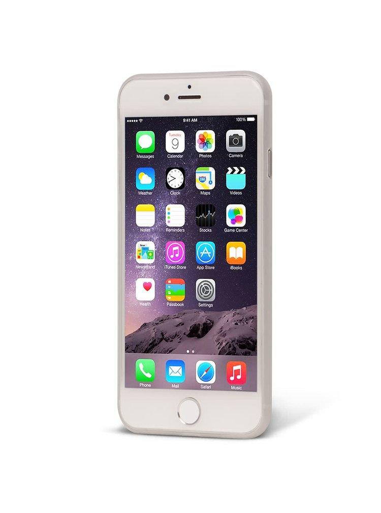 Bílý průhledný ultratenký plastový kryt pro iPhone 7 EPICO TWIGGY MATT