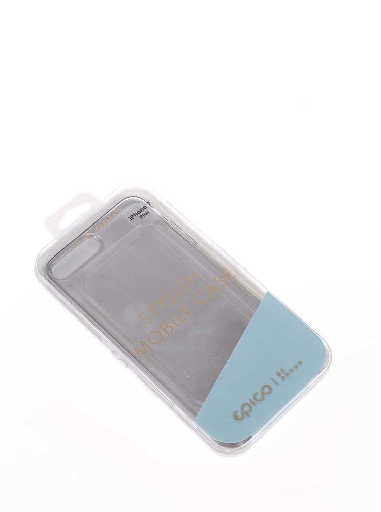 Šedý průhledný ultratenký plastový kryt pro iPhone 7 Plus EPICO TWIGGY GLOSS
