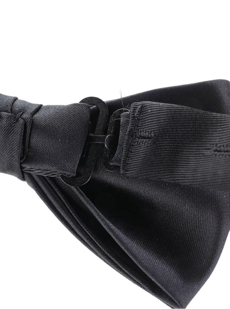 Černo-bílý set kravaty, motýlku a kapesníčku Jack & Jones Jacnecktie