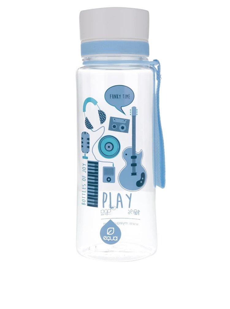 Recipient din plastic cu imprimeu cu motive muzicale EQUA (600 ml)