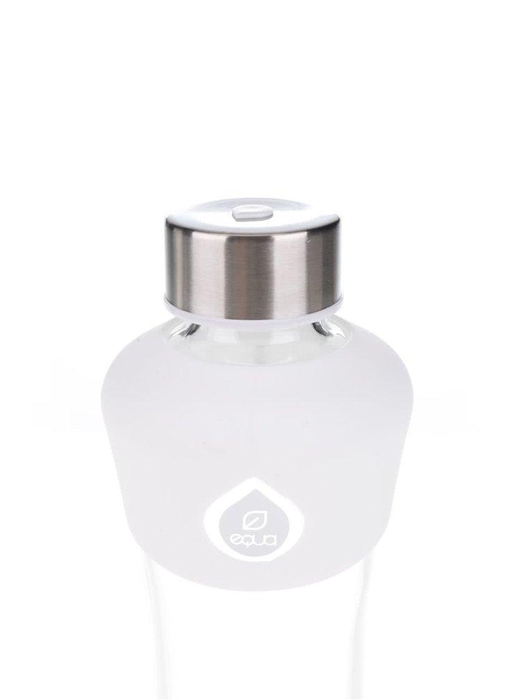 Skleněná láhev s černo-bílými detaily EQUA (550 ml)