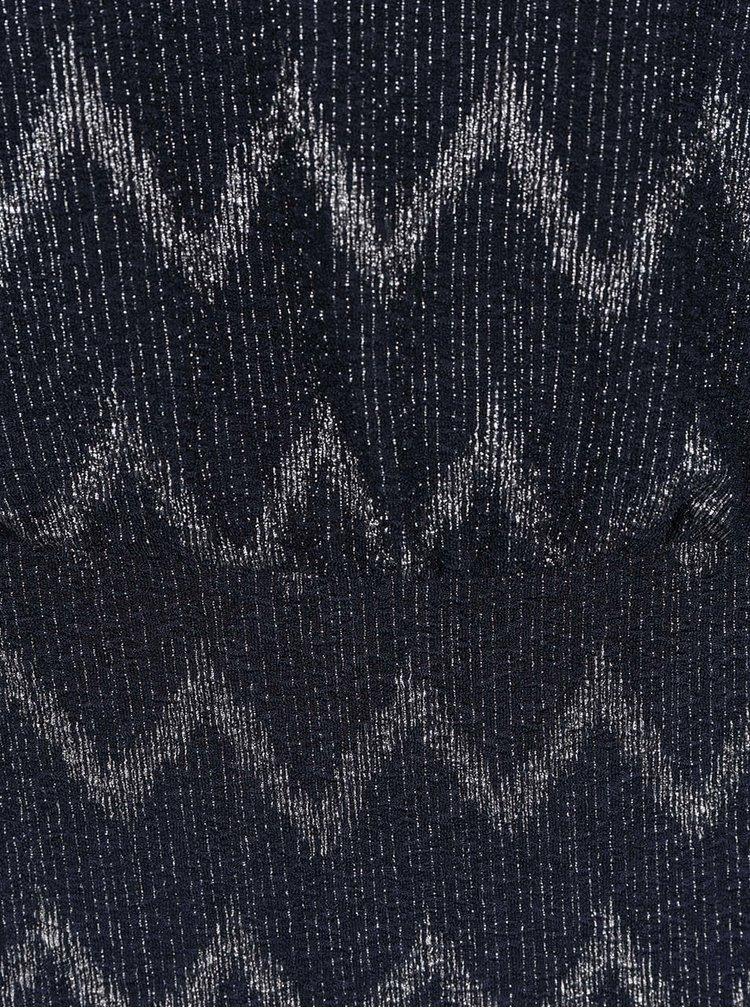 Rochie albastru închis ONLY Zica cu detaliu argintiu