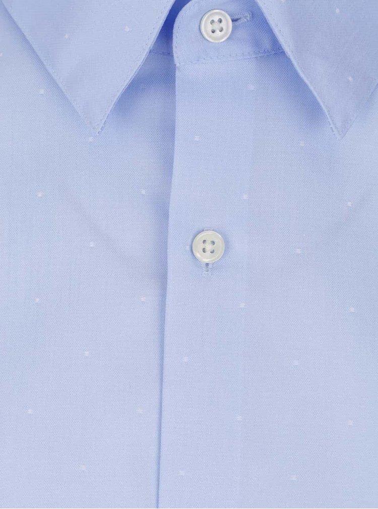 Světle modrá neformální košile se vzorem Jack & Jones Jake