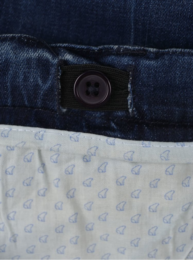 Modré klučičí džíny se sepraným efektem North Pole Kids