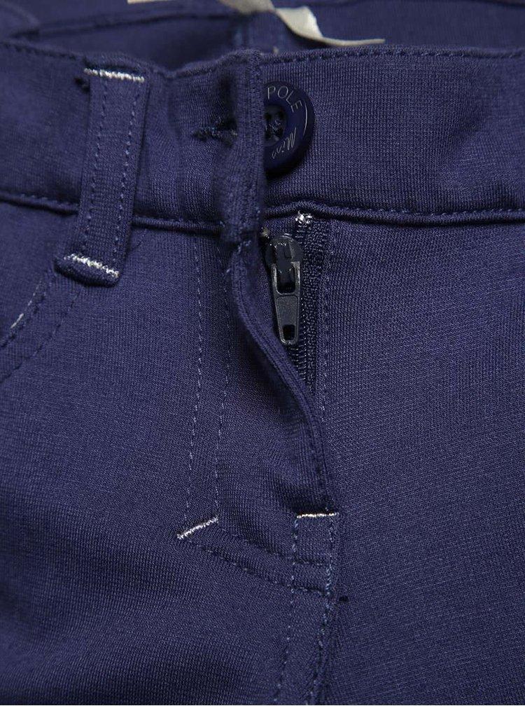 Pantaloni sport albastri North Pole Kids pentru fete