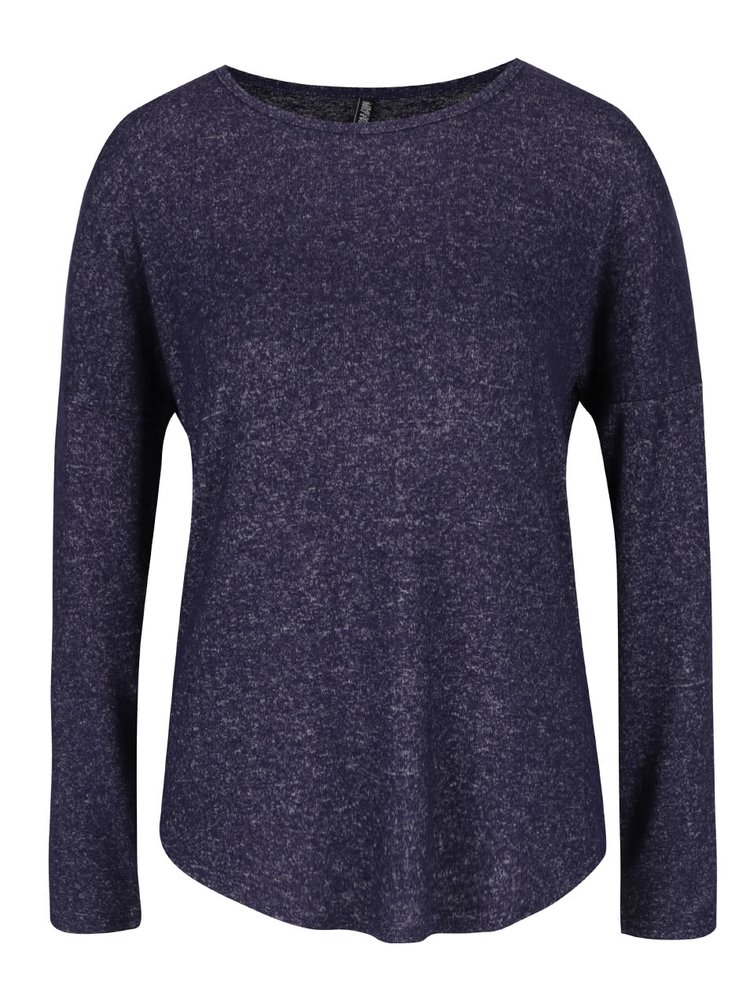 Tmavě modrý žíhaný lehký svetr Haily´s Elisa