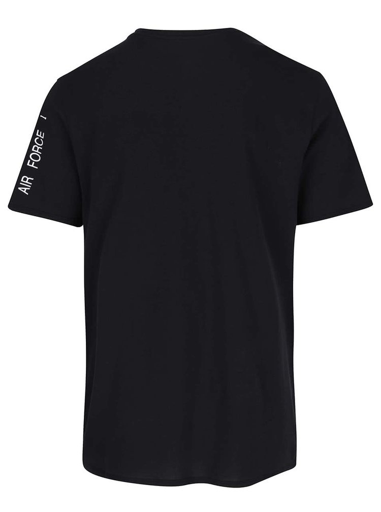 Černé pánské triko s potiskem Nike