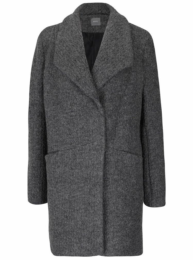 Šedý vlněný kabát ZOOT