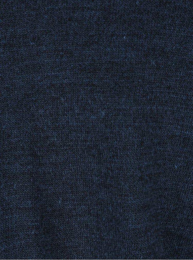 Modrý svetr s vázáním na uzel Miss Selfridge