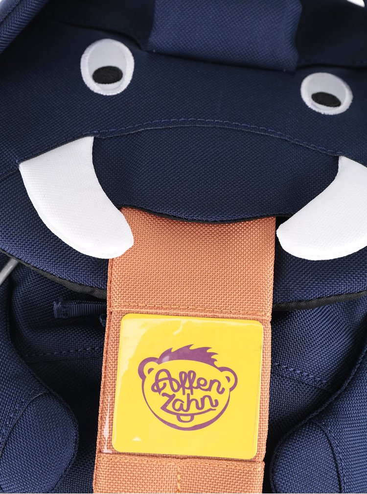 Tmavomodrý batôžtek v tvare slona Affenzahn