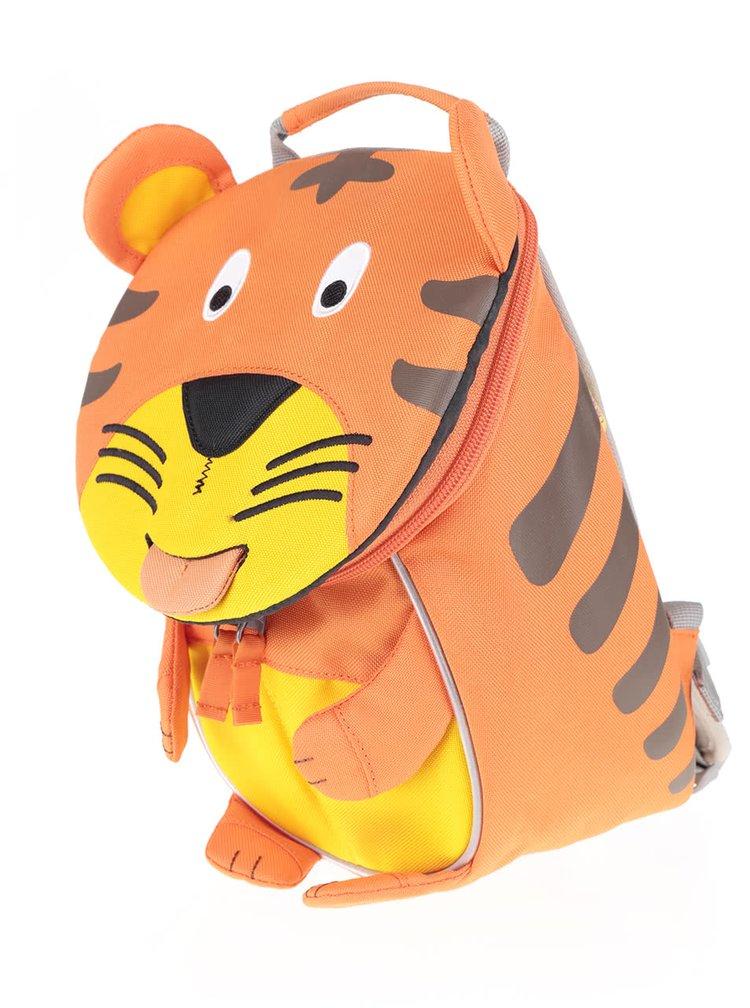 Rucsac portocaliu Affenzahn în formă de tigru