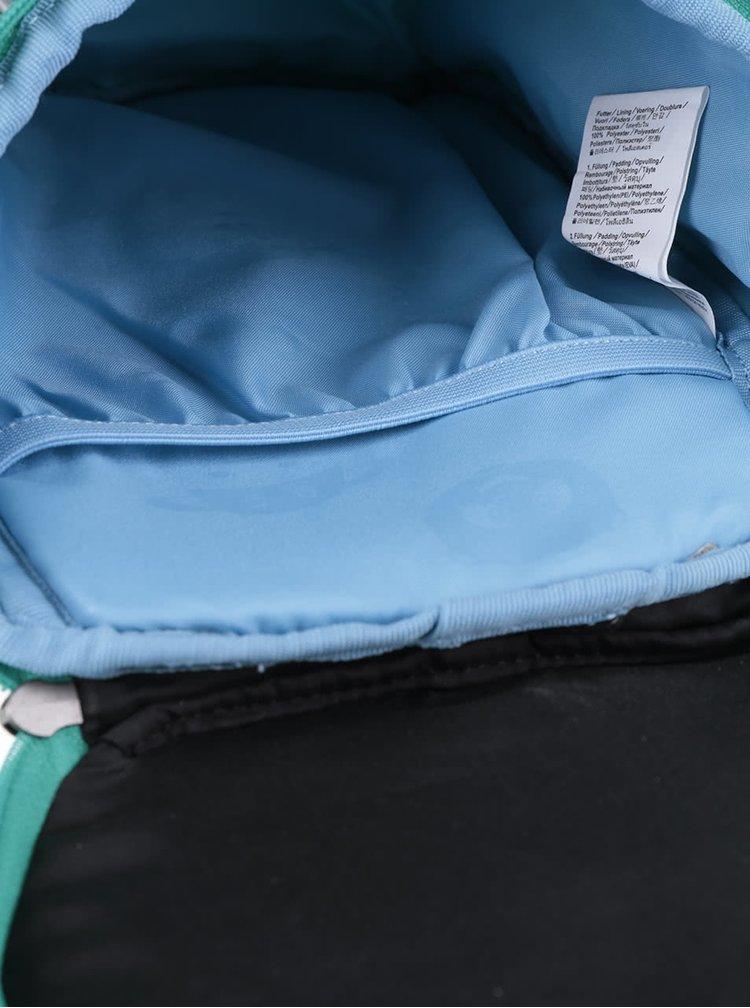 Růžovo-tyrkysový batoh ve tvaru sovy Affenzahn 4 l