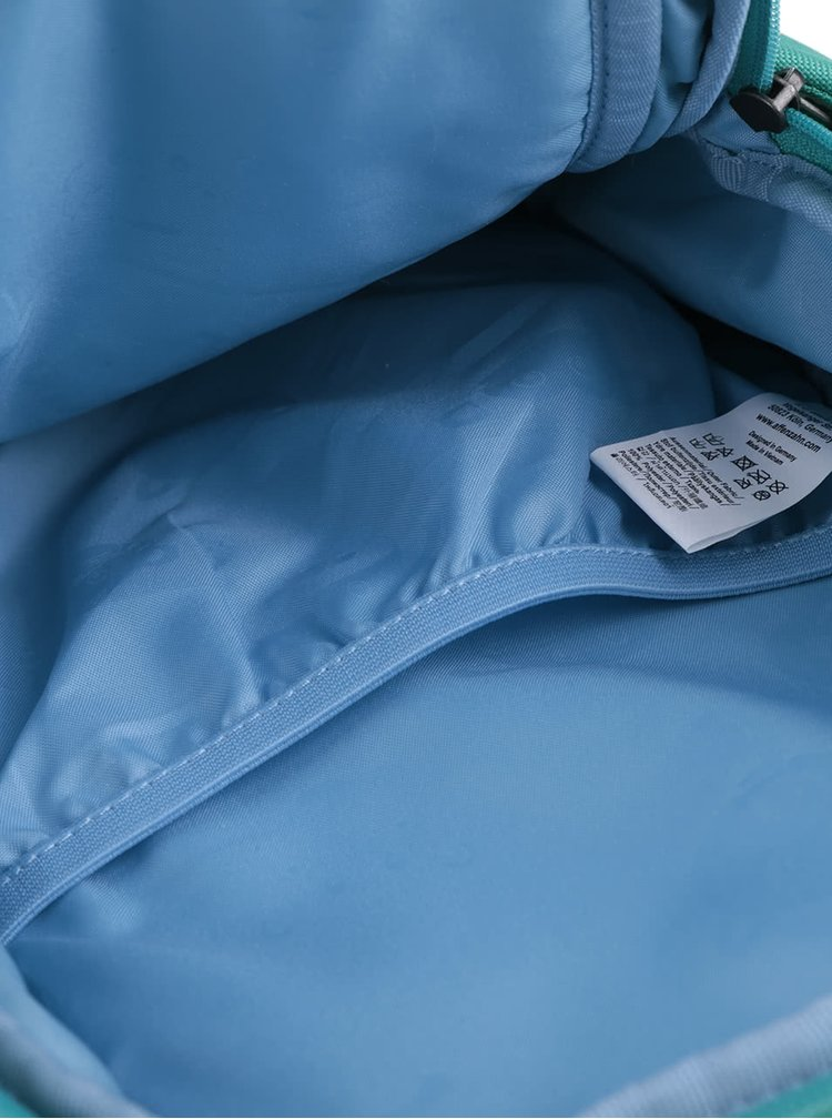 Tyrkysový batôžtek v tvare dráčika Affenzahn