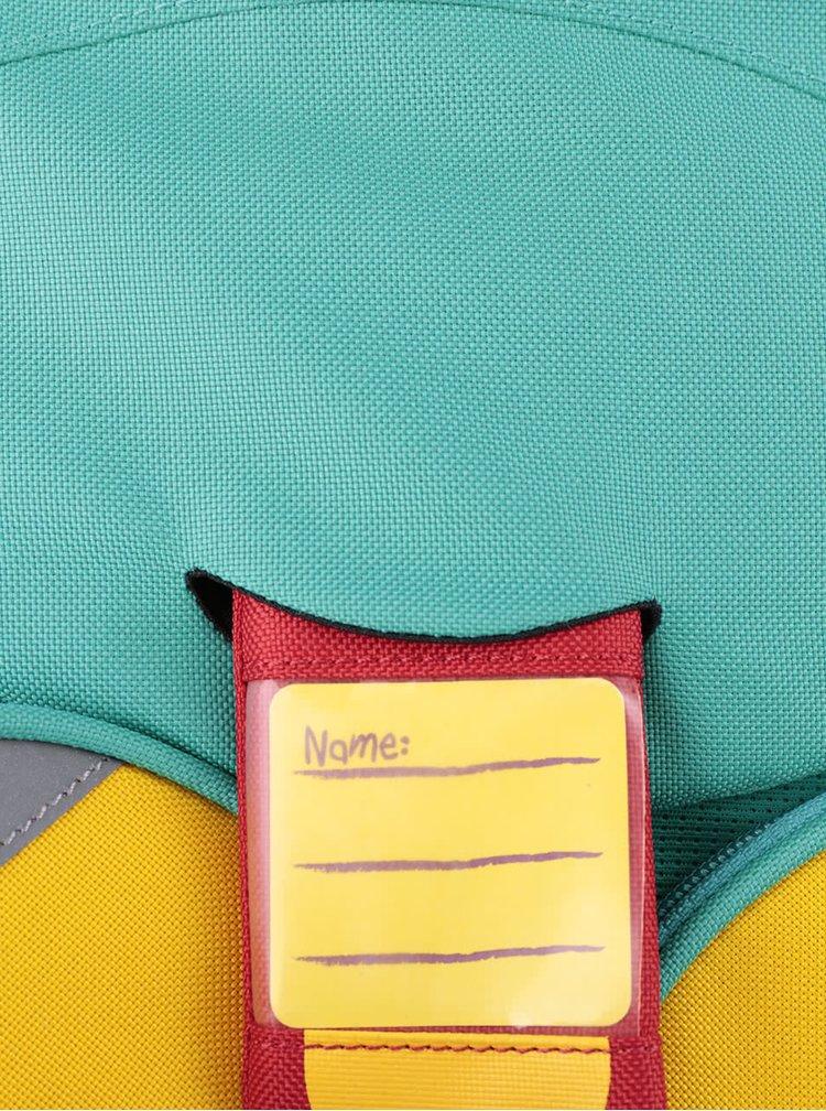 Tyrkysový batůžek ve tvaru dráčka Affenzahn