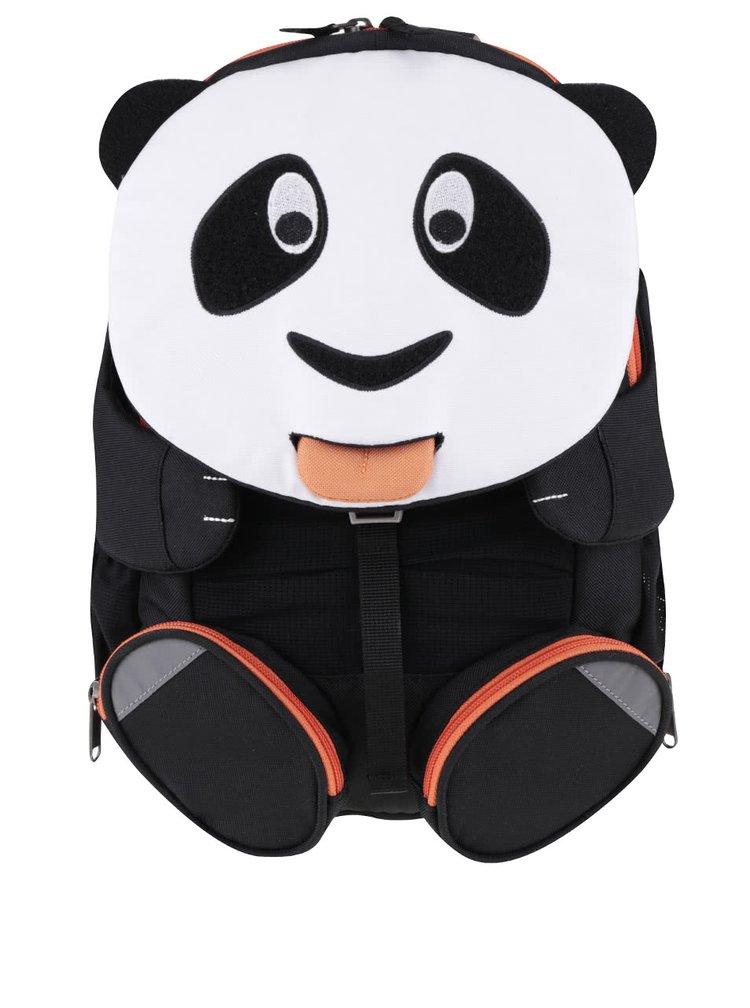 Černo-bílý batoh ve tvaru pandy Affenzahn