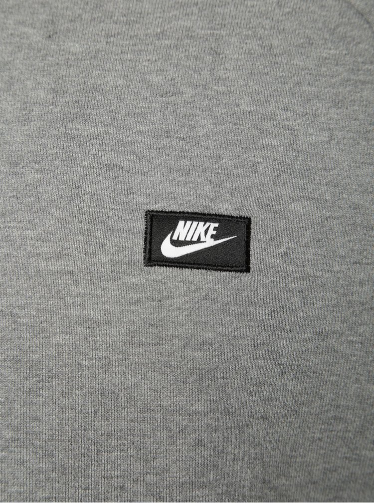 Šedá pánská mikina Nike Modern